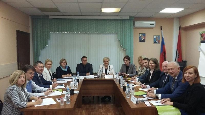 Новый состав совета депутатов