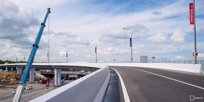 Реконструкция дорог в Москве