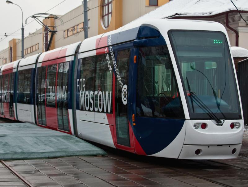 Новый вид трамваев