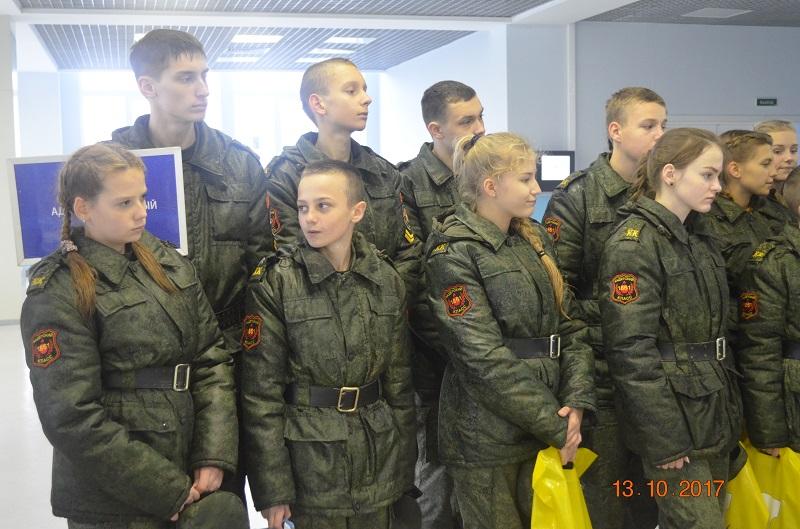 Экскурсия в армию
