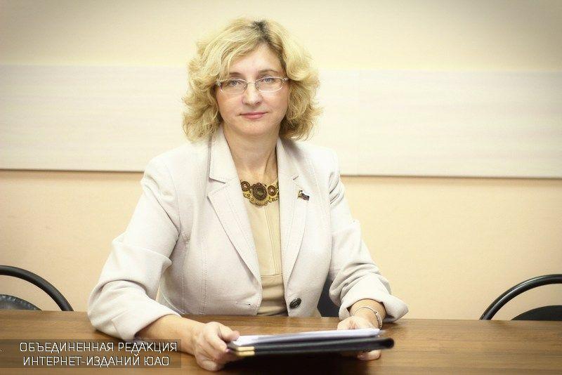депутат муниципального округа Бирюлево Восточное Лариса Антонова