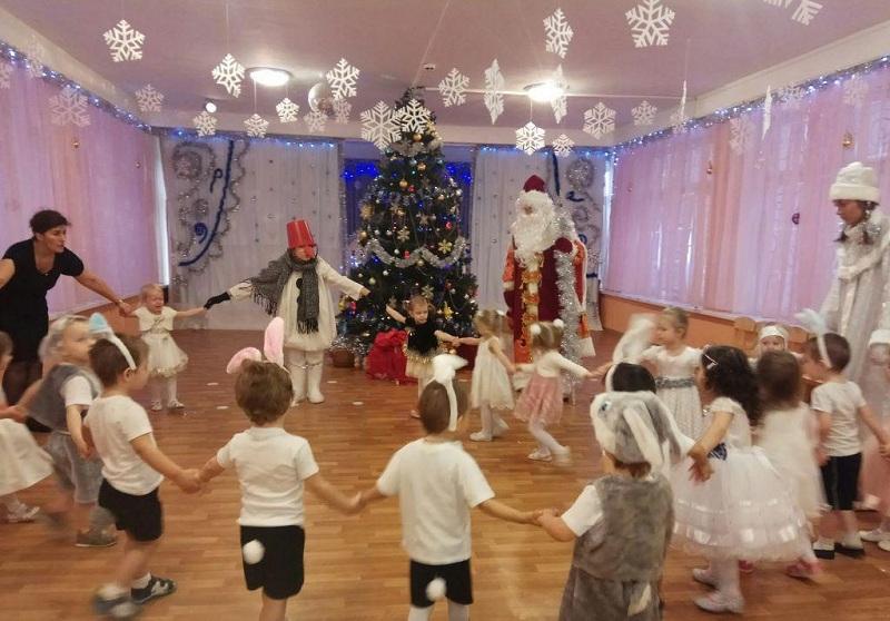 Новый год у самых маленьких в школе №1861