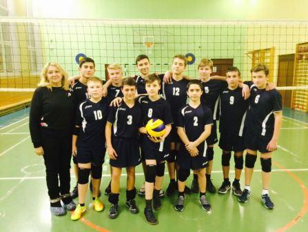 Волейбольная команда школы №1861