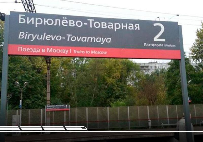 Станция Бирюлево-товарная