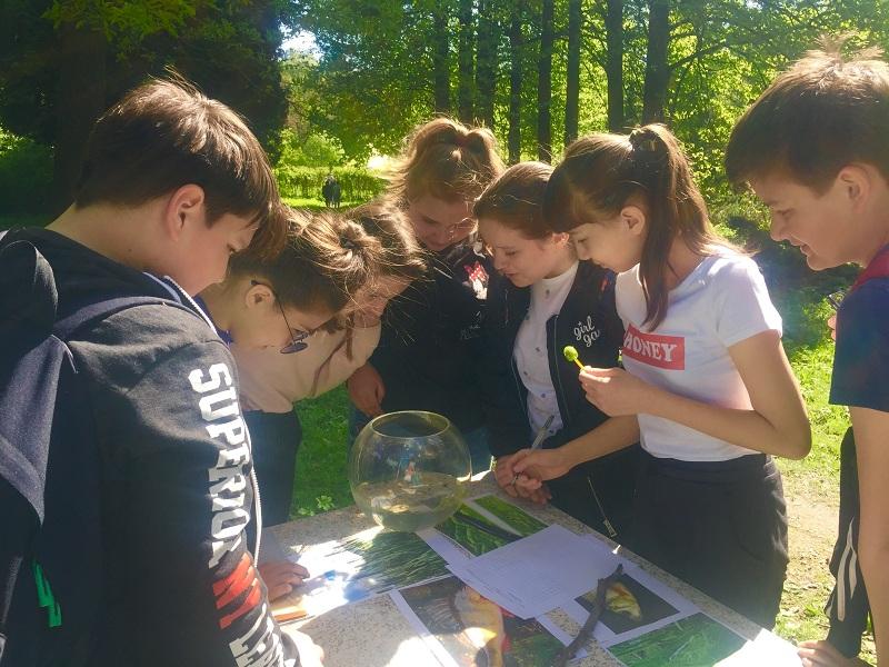 Экологическая акция в Бирюлевском дендропарке