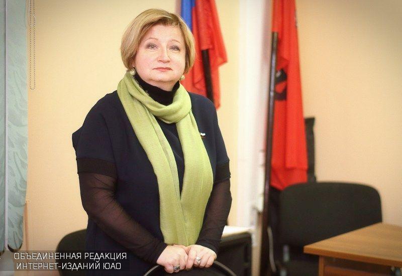 Глава муниципального округа Марина Кузина