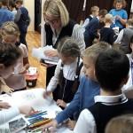 экологический урок, библиотека 140, дендропарк, школа 508