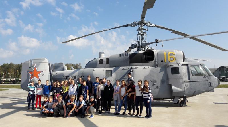 парк Патриот, экскурсия, школьники