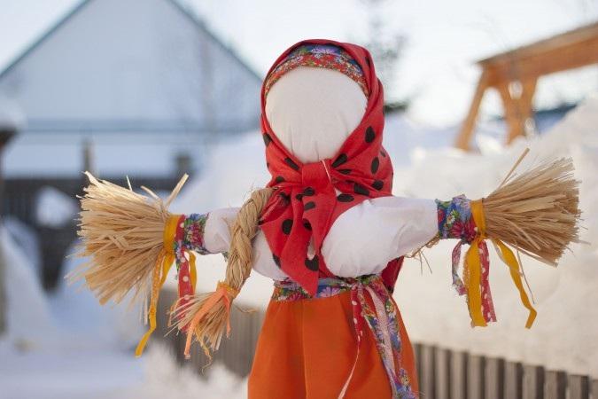 Масленица, галерея Загорье, кукла, 0502