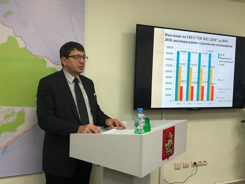 Дмитрий Балашов, главврач, поликлиника 52, 2602Дмитрий Балашов, главврач, поликлиника 52, 2602