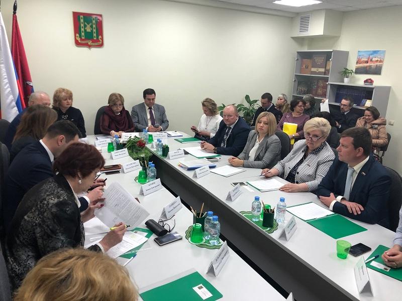 Совет депутатов, заседание, муниципалка, 2003