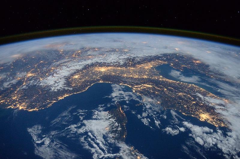 космос, планета, Земля, пиксибей, 2103