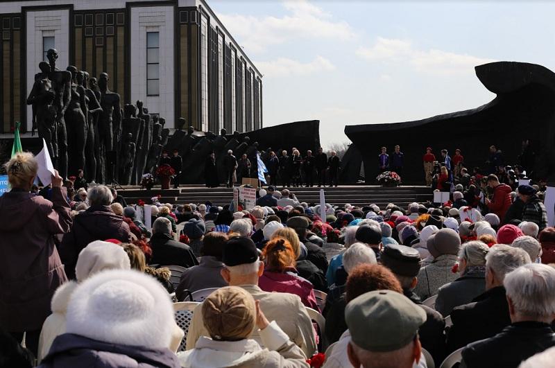 акция памяти, узники концлагерей, Поклонная гора, 12044