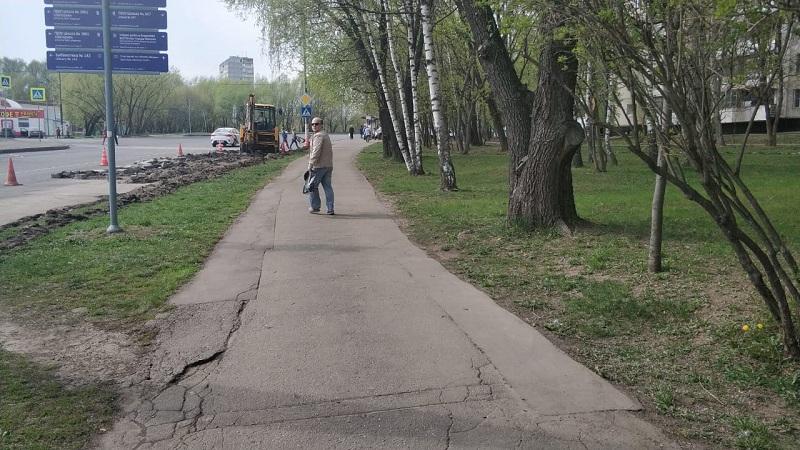 Михневский проезд, ремонт, 3004