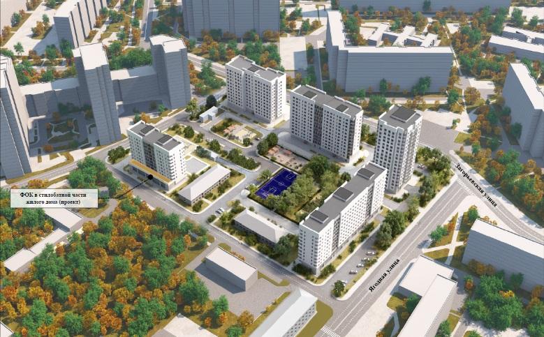 Реновация, 3-й микрорайон Загорье, проект, 1004