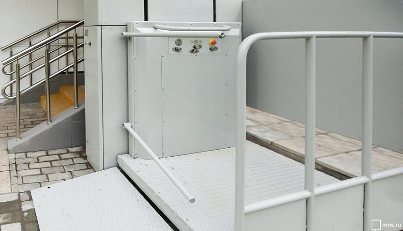 подъемная платформа, подъезд, мосру, 3005