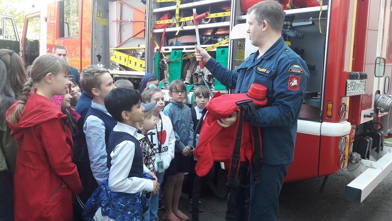 библиотека 140, экскурсия, пожарно-спасательный отряд, 2405