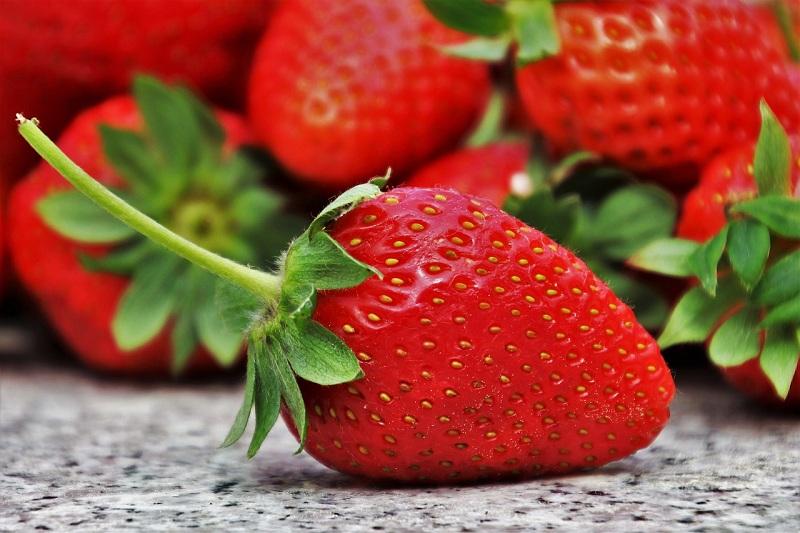 клубника, ягода, пиксибей, 0606
