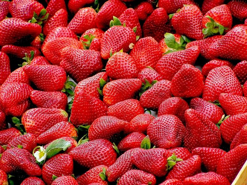 клубника, ягода, пиксибей, 1306