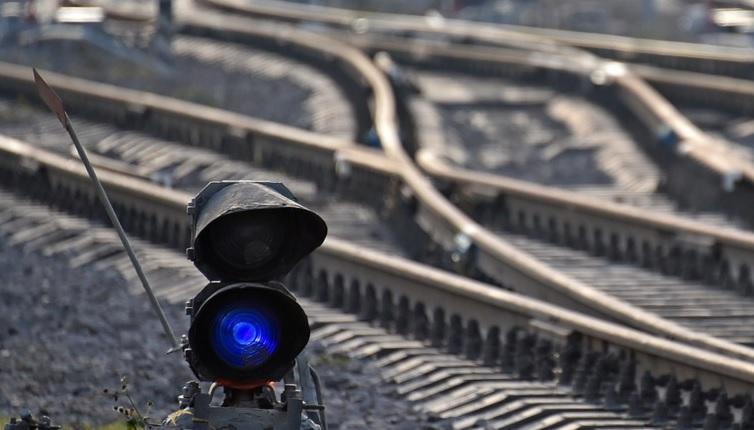 рельсы, шпалы, железная дорога, Стройкомплекс, 2108