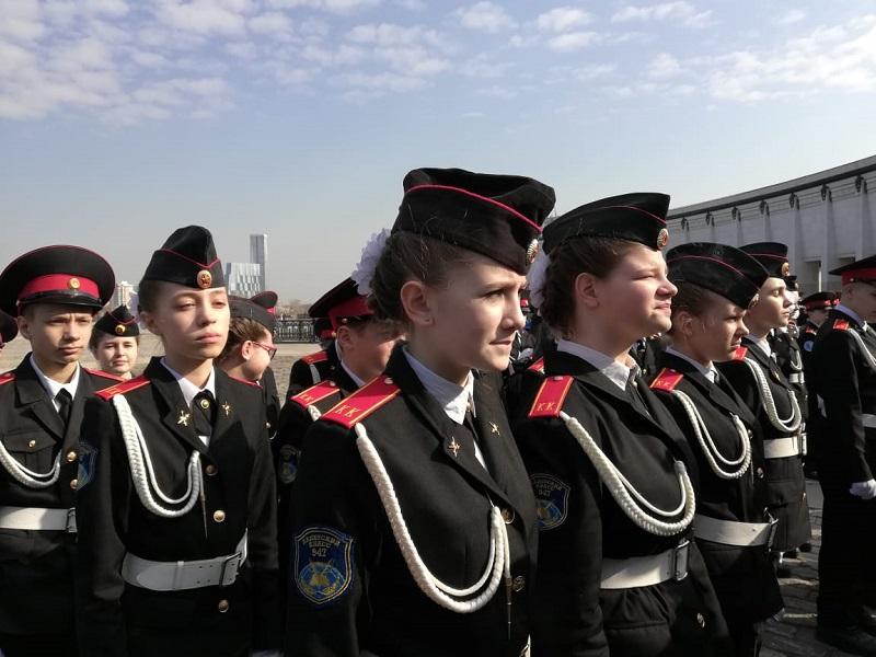 Кадеты, школа № 947, Ольга Полянских, День знаний, 2708 (1)