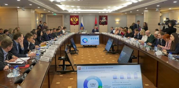 депутаты, Мосгордума, бюджет, заседание, мосру, 3110