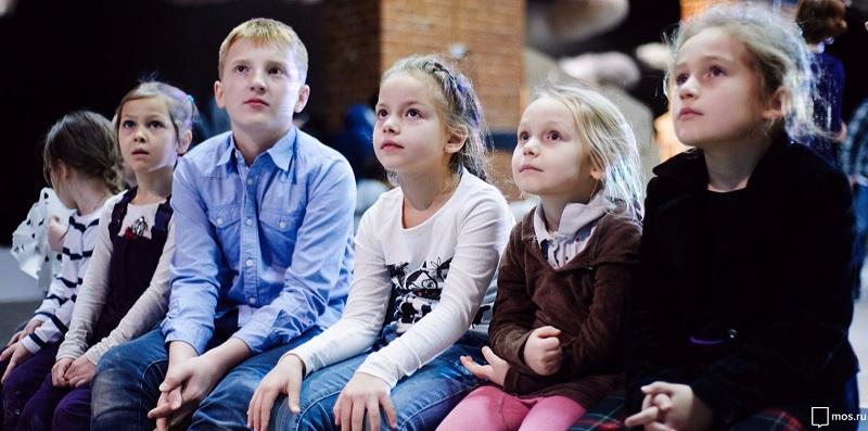 спектакль, дети, зрители, мосру, 1010