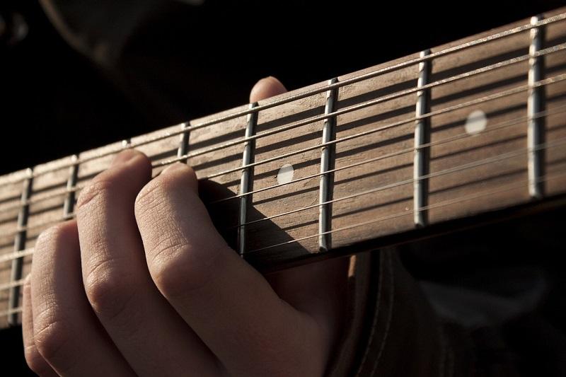 гитара, струны, рука, пиксибей, 1810