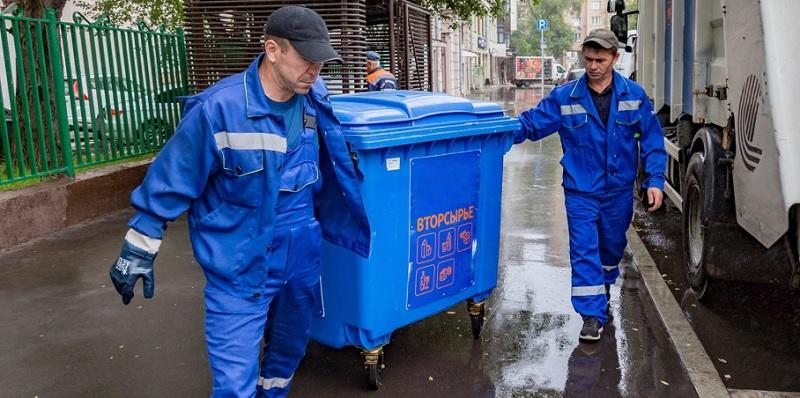 раздельный сбор мусора, мосру, контейнеры, 2011