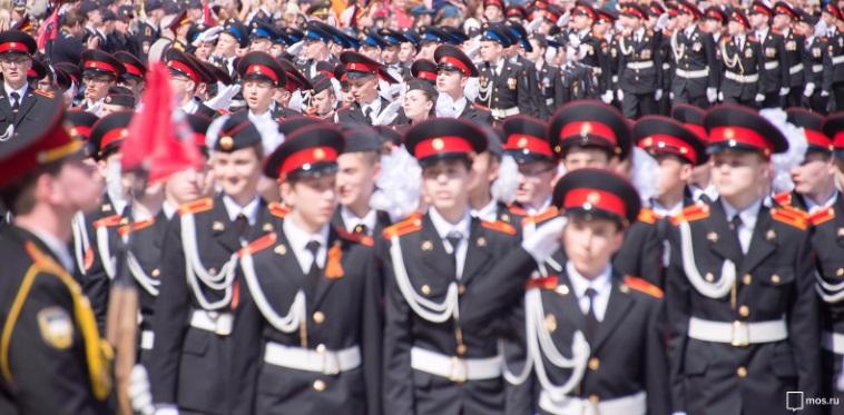 парад, кадеты, мосру, 0611