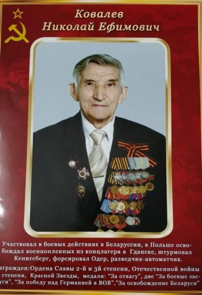 Ковалев Николай Ефимович, ветеран, 2102 (16)