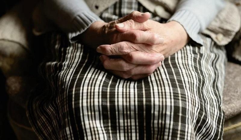 бабушка руки пенсионер 0104