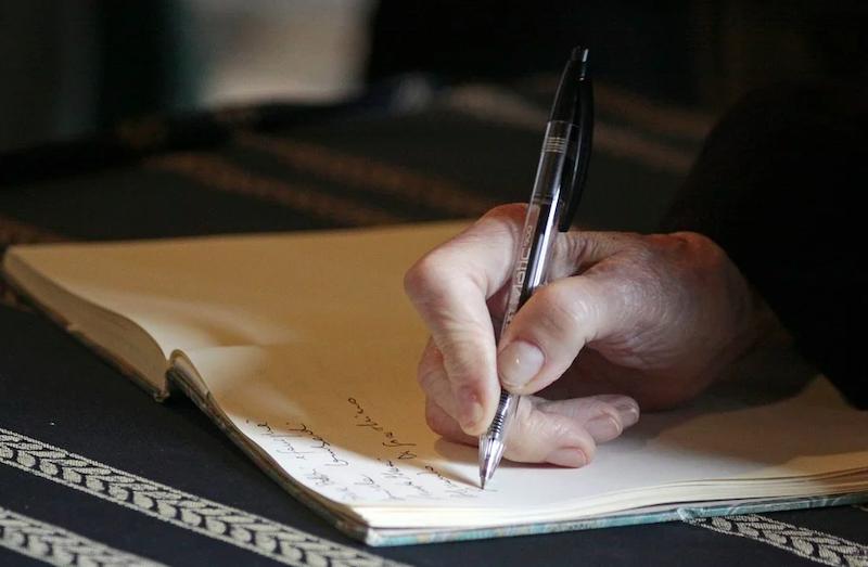 рука ручка пишет пиксабай 0805
